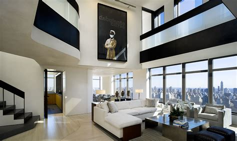 modern penthouses modern cabinet central park west penthouse duplex manhattan new york