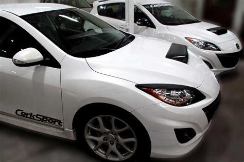 corksport mazdaspeed carbon fiber hood scoop product release corksport mazda performance blog