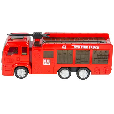 toy fire trucks with lights and sirens kids toy fire truck electric flashing lights and siren