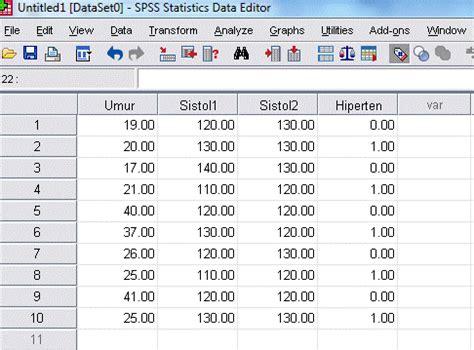 Statistik Deskriptif Konsep Dan Aplikasi Dengan Microsoft Excel Dan Spss Disket Penerbit mengelompokan data statistik dengan aplikasi spss