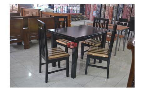 meja makan kayu rp 1 050 000 dm mebel jogja pusatnya