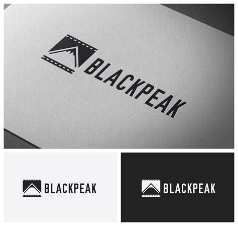 Clever Urban Logo For A New Digital Film Company Black Peak Productions Logo Design 42 By Production Logo Templates