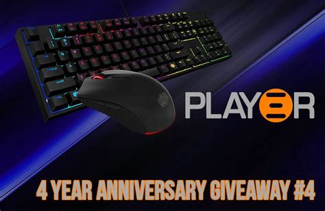 Cooler Master Giveaway - play3r 4 year anniversary giveaway 4 win a cooler master masterkeys lite l combo