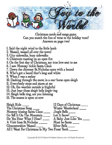 printable christmas party games for work automotive trivia questions to print autos post