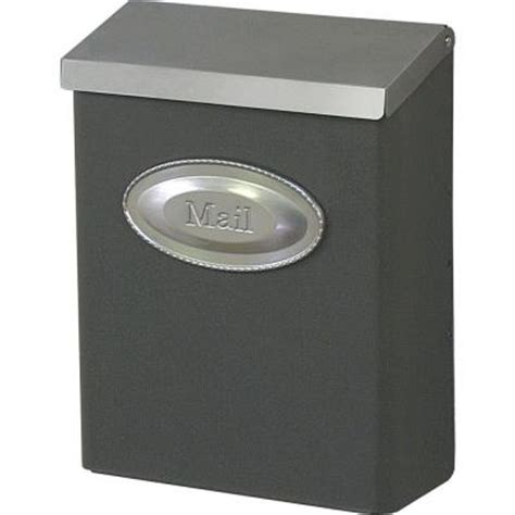 Decorative Wall Mount Mailboxes by Gibraltar Mailboxes Designer Venetian Bronze With Satin