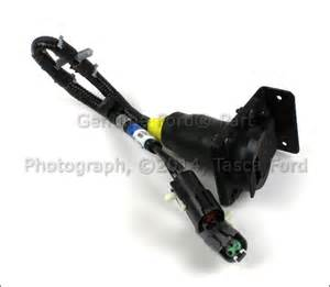 brand new ford oem 7 pin connector trailer wiring harness feed f6tz 13a576 ba ebay