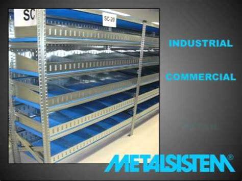 metalsistem scaffali metalsistem shelving