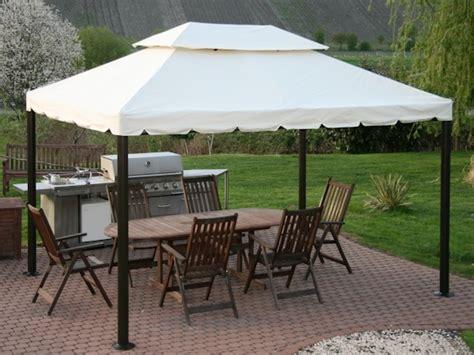 günstige pavillons 3 x 4 luxus pavillion valencia 3x4m creme beige 240g m 178 ebay