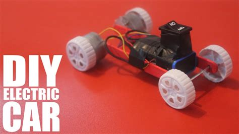 How Do You Make A Car Out Of Paper - how to make a battery powered car diy electric car