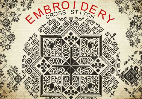 embroidery pattern for photoshop embroidery free photoshop brushes at brusheezy