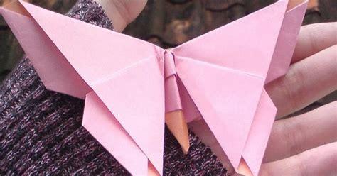 tutorial buat origami kupu kupu ada nak bulu ayam saya cara membuat origami bentuk