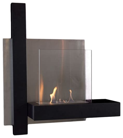 Wall Mount Fireplace by Modern Wall Mounted Fireplace Modern Indoor Fireplaces