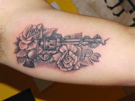 gun roses tattoo gun for creative