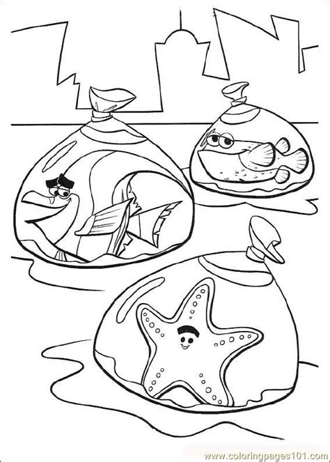 finding nemo coloring pages online coloring pages finding nemo08 cartoons gt finding nemo