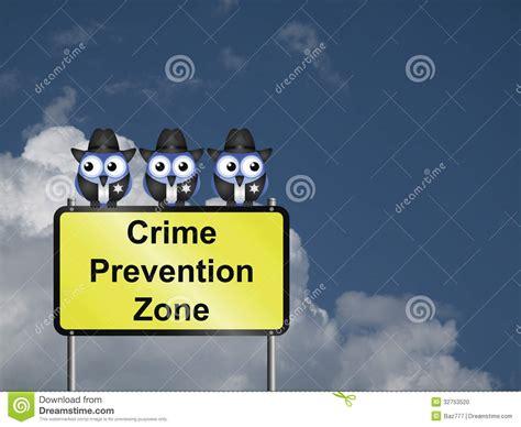 crime zone crime prevention usa stock photo image 32753520
