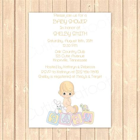 Precious Moments Baby Shower Invitations by Precious Moments Baby Shower Invitations Xyz