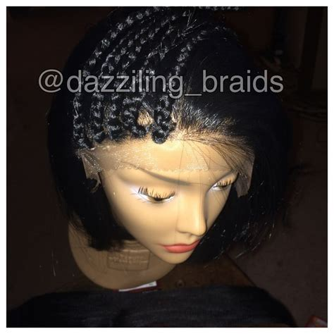 box braided wigs lace front box braid wig lace front braid wig