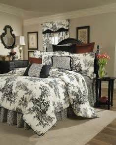 Toile Bedding Sets Black And White 1000 Ideas About Toile Bedding On Toile