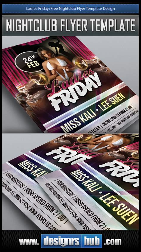 free nightclub flyer design templates friday free nightclub flyer template design