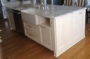 kitchen island with dishwasher and sink custom kitchen islands bull restoration