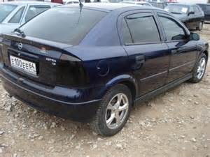 Vauxhall Astra 2000 2000 Opel Astra Pictures For Sale