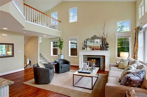 lakeview model home toll brothers traditional living room seattle by the standard