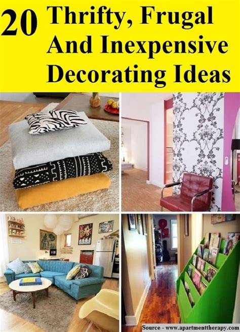 frugal home decor 28 20 thrifty frugal inexpensive decorating the