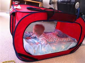 make your own baby travel bed hacks