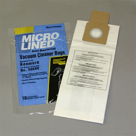 Kenmore Vaccum Bags by Kenmore 50688 Vacuum Bags Microfiltration With Closure