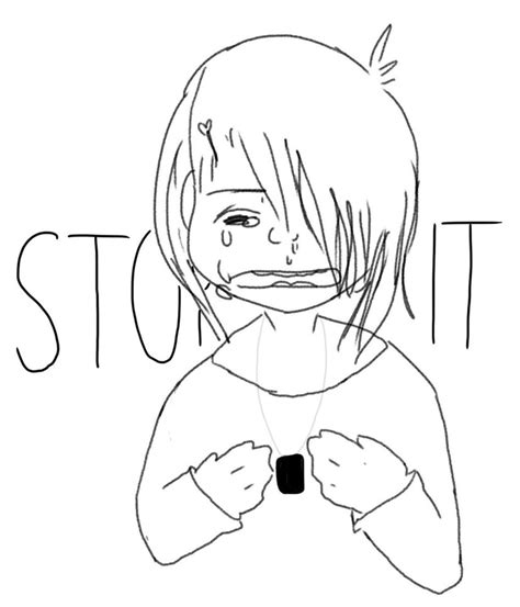 no bullying coloring pages sketch coloring page