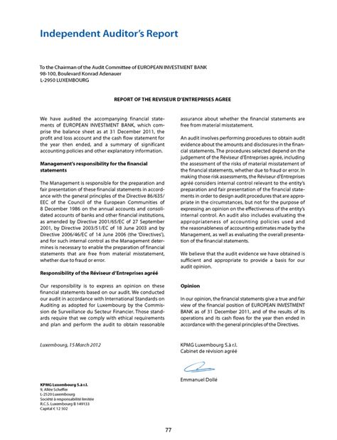 section 481 adjustment eib group consolidated financial statements under eu