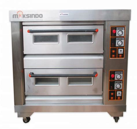 Oven Maksindo jual mesin oven roti gas 4 loyang mks rs24 di semarang toko mesin maksindo semarang toko