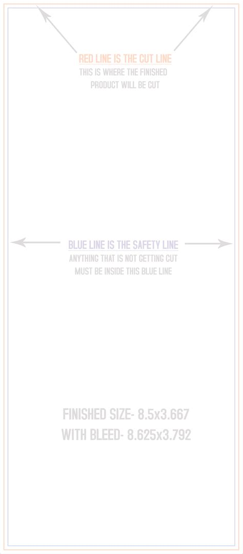 Bookmark Print Templates 1 5 Quot X7 Quot Post Card Template Www 4over Templates