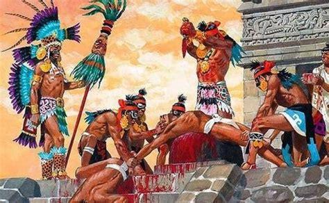 imagenes aztecas vs españoles las pr 225 cticas can 237 bales de los aztecas que aterraban al
