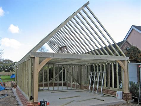 Reydon Garage Services by Timber Garage Construction Classic Suffolk Timberframes