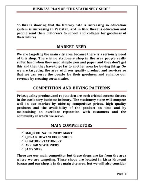 template for a school business plan business plan template for high school students sle