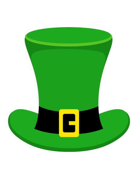 leprechaun hat template pin by muse printables on photo booth props at