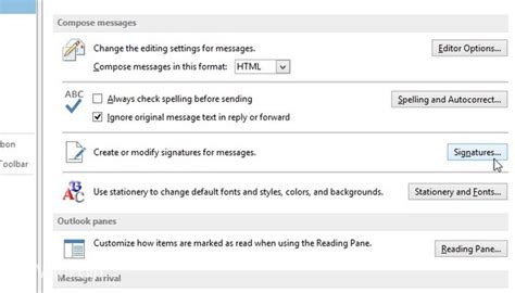 cara membuat footnote di outlook cara membuat signature di outlook 2013 winpoin
