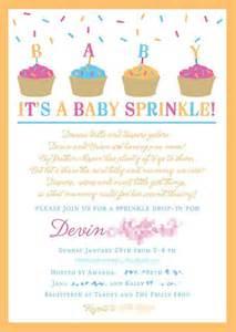 baby sprinkle sprinkles and showers on