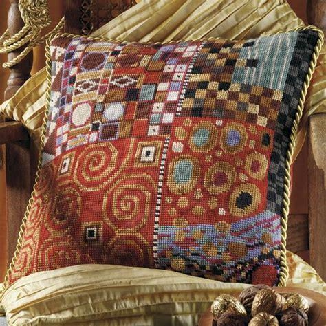 Klimt Pillows by Klimt Mandarin Ehrman Tapestry Home