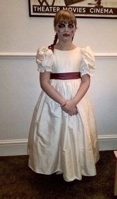 annabelle doll dress courteney cox masters creepy annabelle doll costume photo