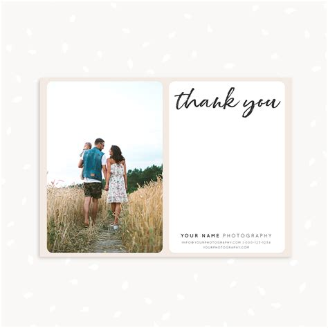 handwritten thank you card template strawberry kit