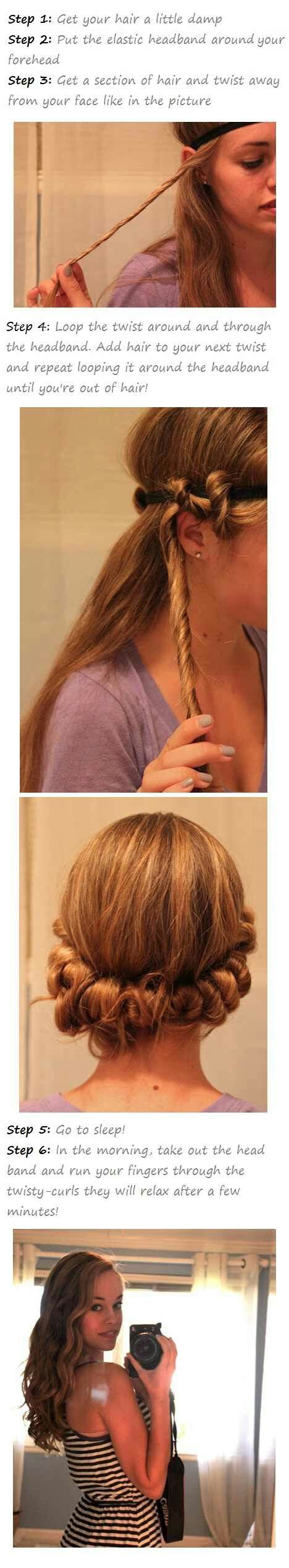 hairstyle ideas without heat diy no heat curls 15 tutorials for curl hair without heat