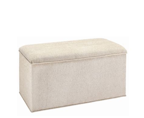 Cloth Ottoman Knightsbridge Fabric Ottoman Manufactured In The Uk