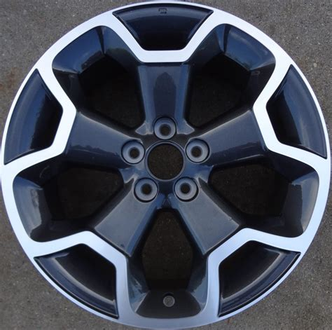 subaru crosstrek wheels subaru crosstrek 68806mb oem wheel 28111fj031 oem