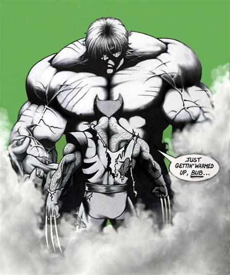 imagenes de hulk vs wolverine en real wolverine vs hulk by ksowinski on deviantart