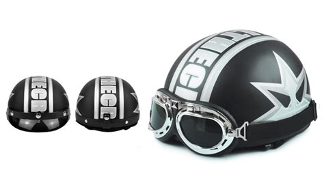 Open Retro Cycling Motorcycle Skull Helmet new motorcycle helmet bike bicycle helmet scooter open half helmet with visor