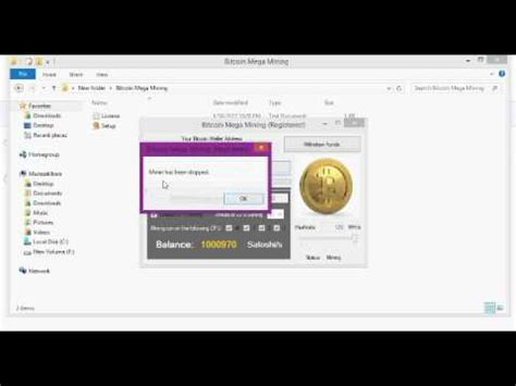 Software Mining Bitcoin 5 by Bitcoin Mega Mining