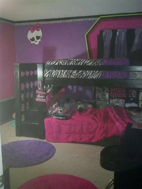 monster high bunk bed 25 best ideas about monster high bedroom on pinterest