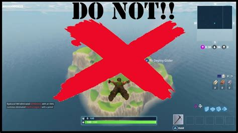 fortnite island fortnite battle royale do not try to go to island doovi